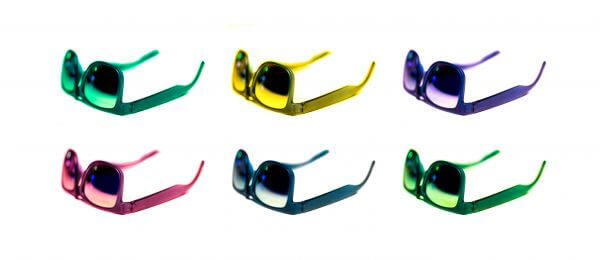 Colorful sunglasses photo