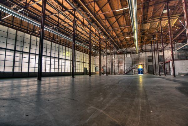 Factory hall photo