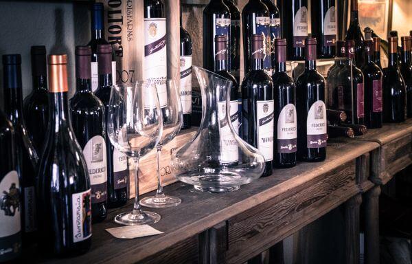 Wine shop photo