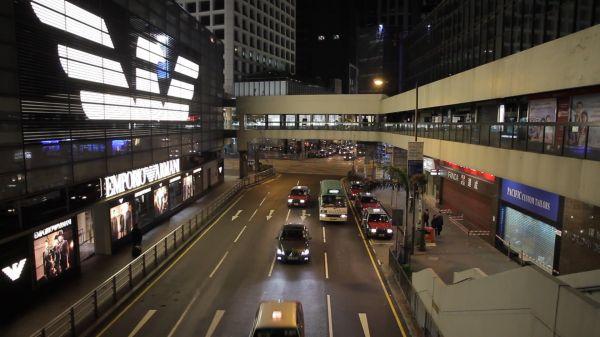 Hong kong  double decker  bus video