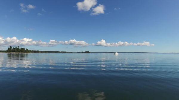 Sea  boat  water video