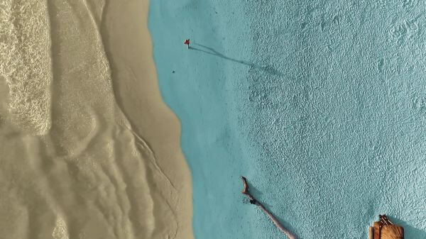Man  beach  race video