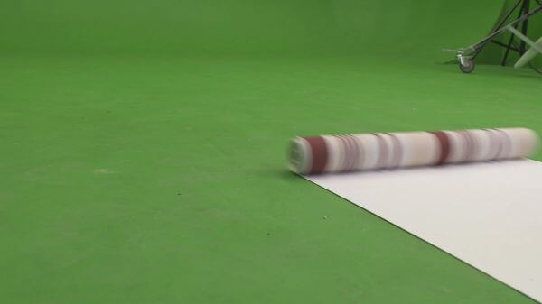 Chromakey  wallpaper  roll video