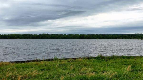 Lake  water  overcast video