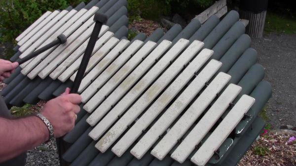Glockenspiel  musical  instrument video