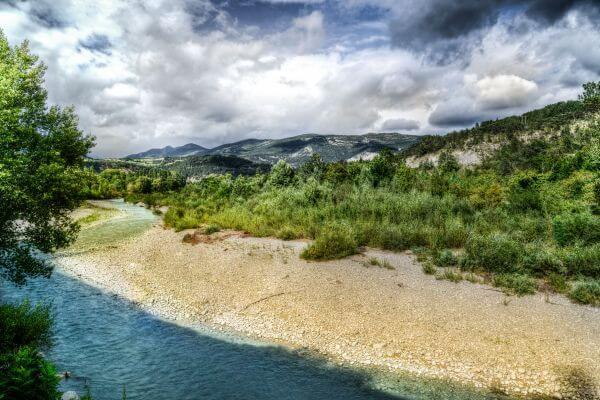The river Drome photo