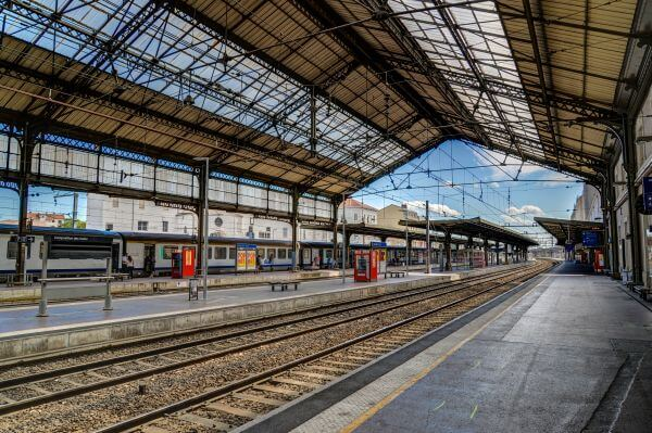 Valence central station photo