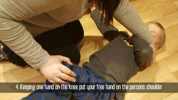 Recovery  position  health video