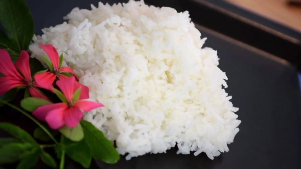 Rice  plain  boiled video