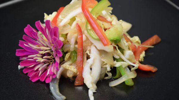 Jellyfish  salad  food video