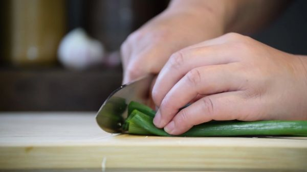 Chopping  food  cooking video