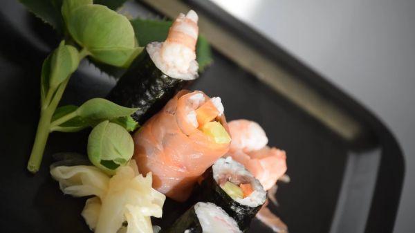 Sushi  japanese  japan video