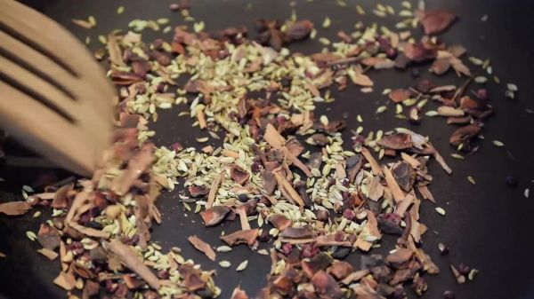 Spice  mix  food video