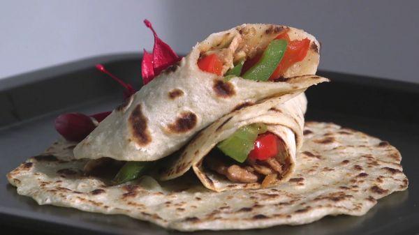 Pancake  wrap  food video