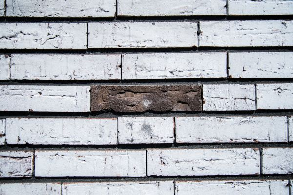Lonely brick photo