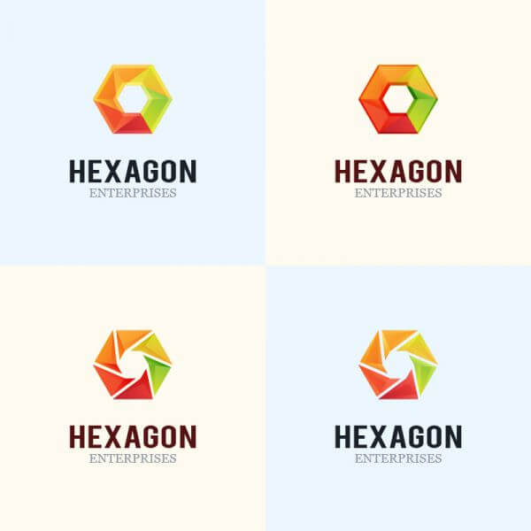 Hexagon Logo Design vector