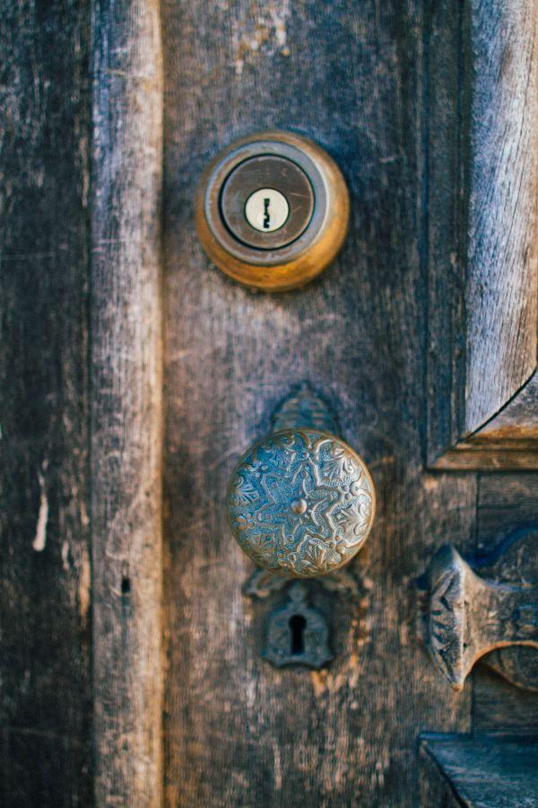 Free Stock Photo Old Wooden Door Vintage Knob Rustic photo