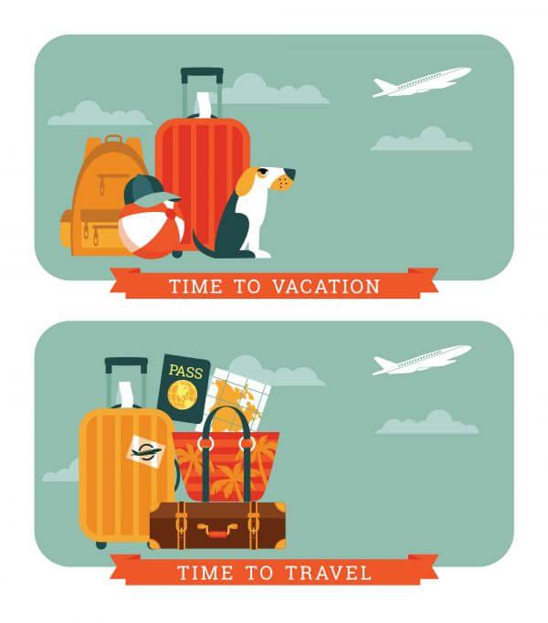 Travel Illustration. vector