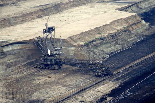 Brown coal photo