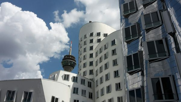 Apartment buildings photo
