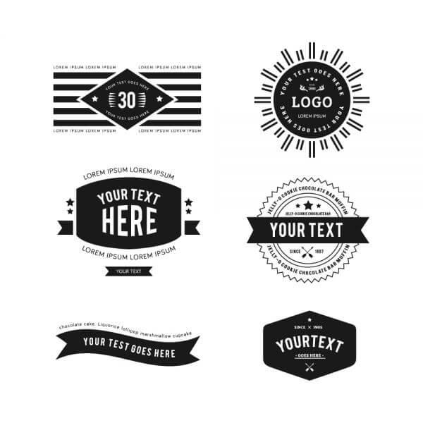 Vintage Logos vector