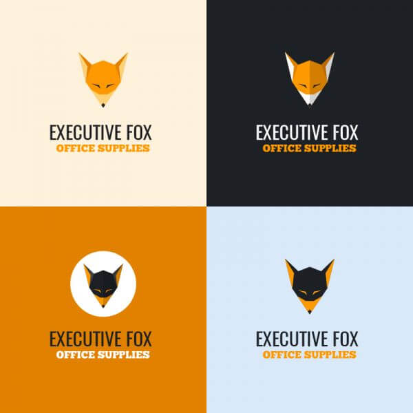 Executive Fox Logo vector