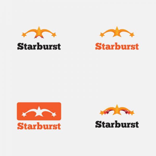 Starburst Vector Logo vector
