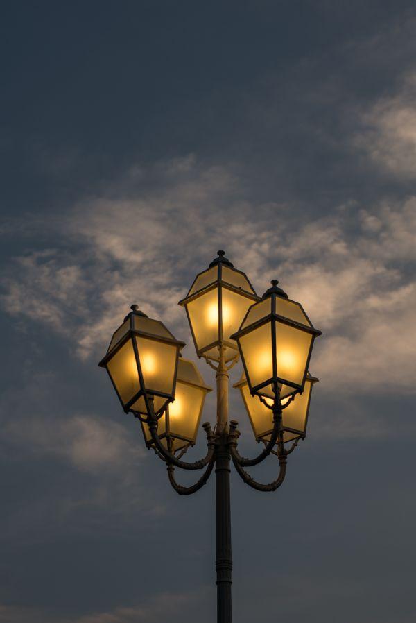 Street lanterns photo
