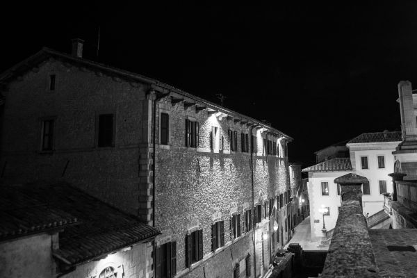 San Marino at night photo