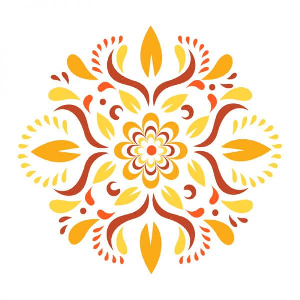 Floral Ornament Vector vector