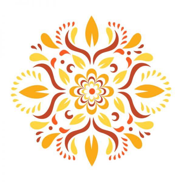 Floral Ornament Vector vector