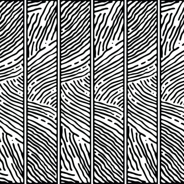 Hand Drawn Lined Pattern vector