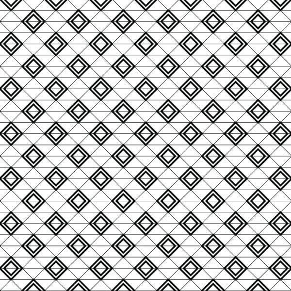 Modern Textile Geometric Pattern vector