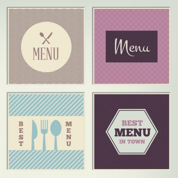 Restaurant Menus vector