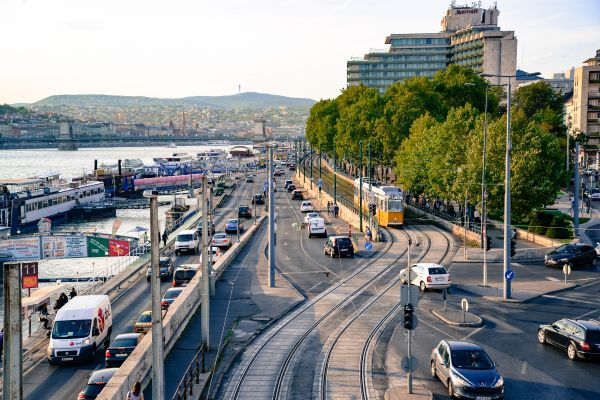 Budapest traffic photo