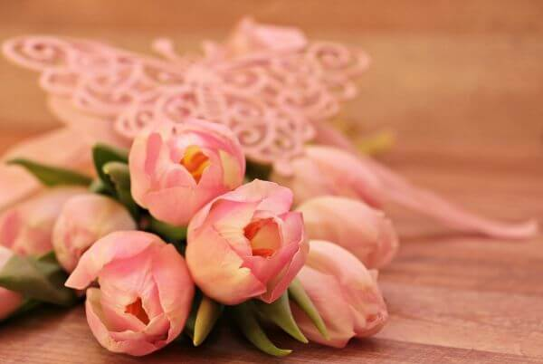 Pink Flower Bouquet photo