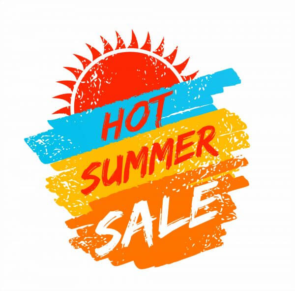 Summer holidays texture for summer sale. vector