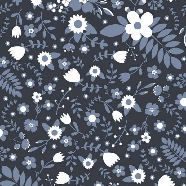 Floral vector pattern vector