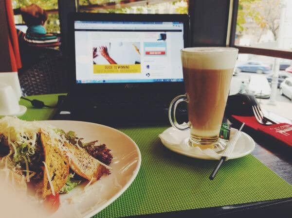 Bar cafe photo