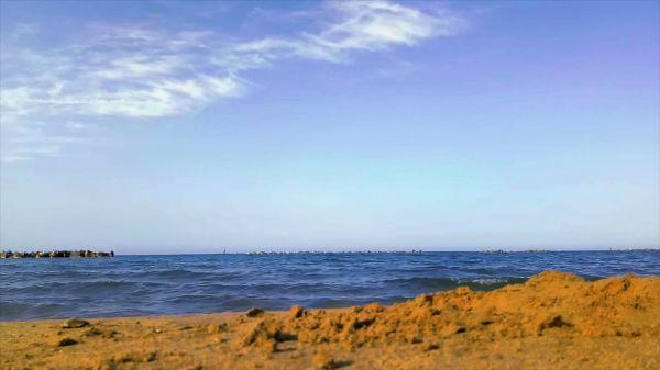 Sea  beach  sand video