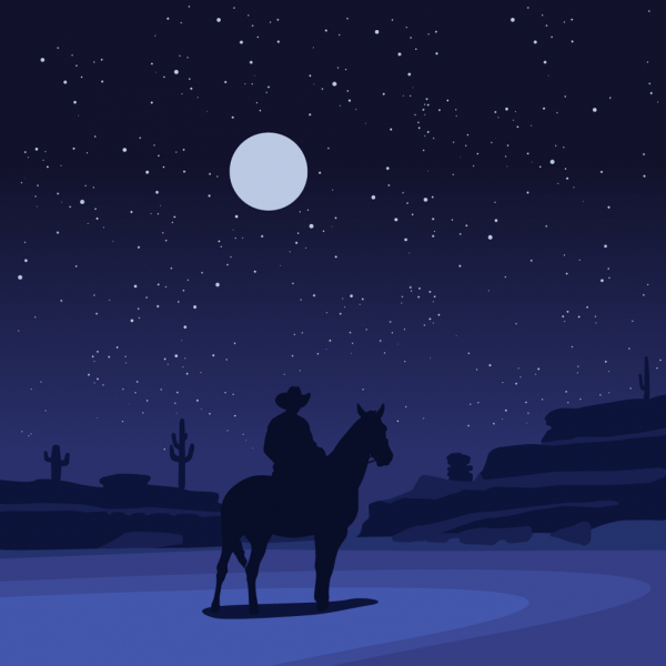 the lone ranger vector