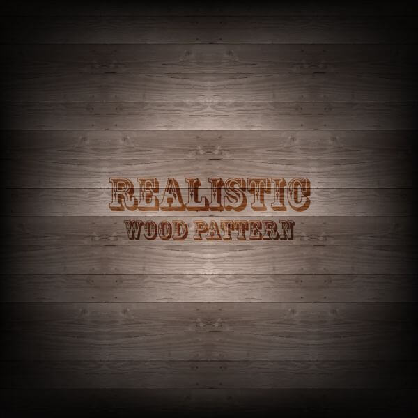 Realistic Wood Pattern vector