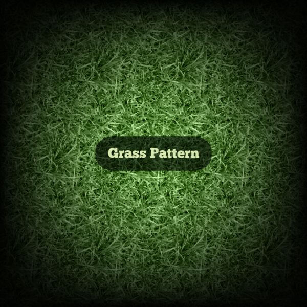 Vector Grass Pattern vector