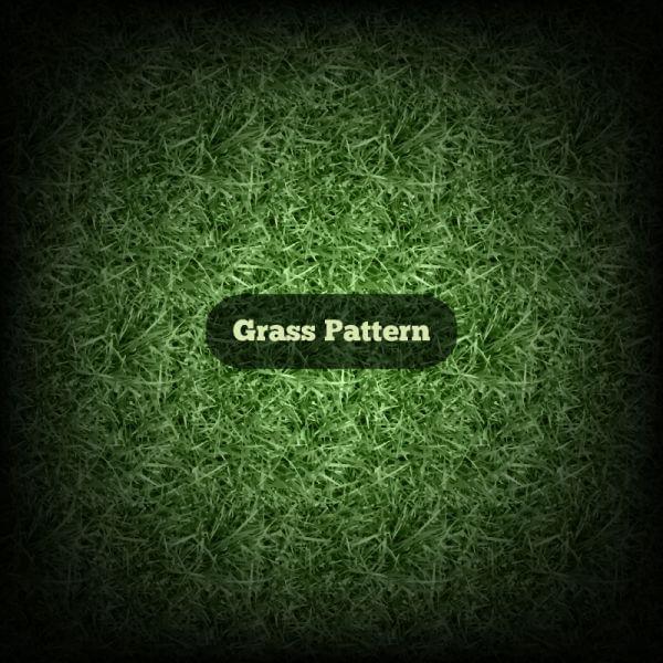 Vector Grass Pattern vector