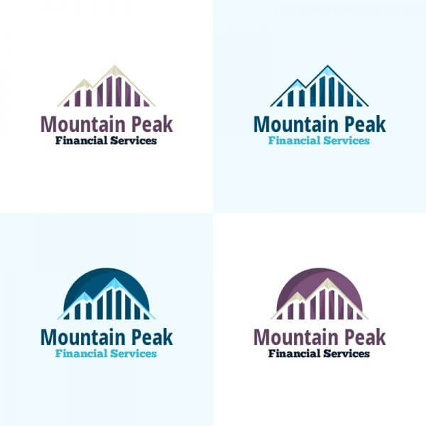 Mountain Peak Vector Logo vector