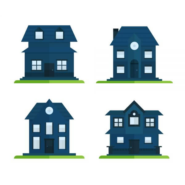 House Icons vector