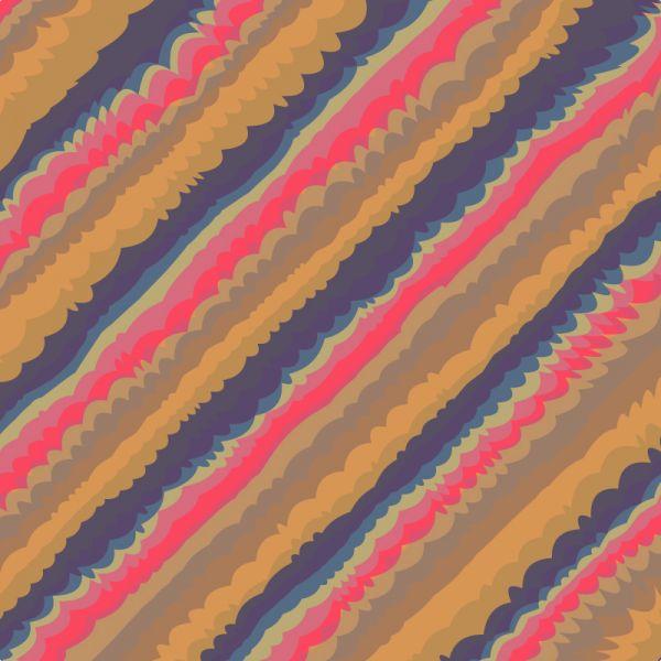 Retro plaid background vector