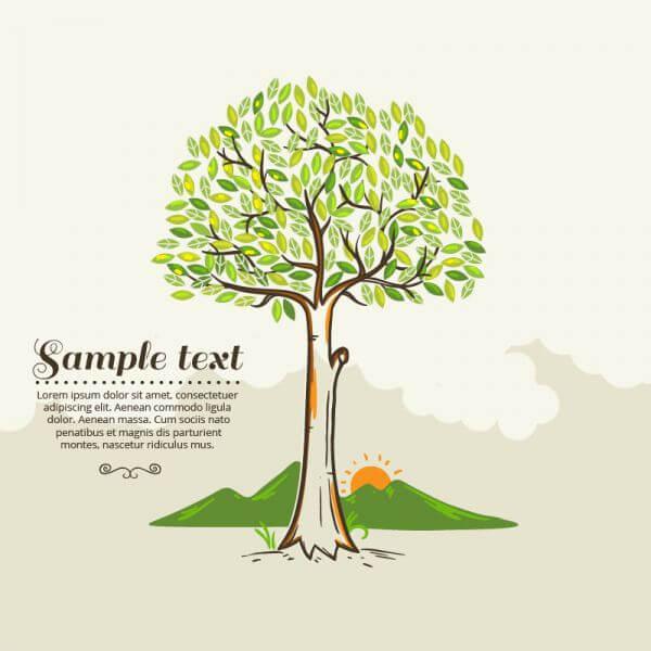 Tree vector illustration vector