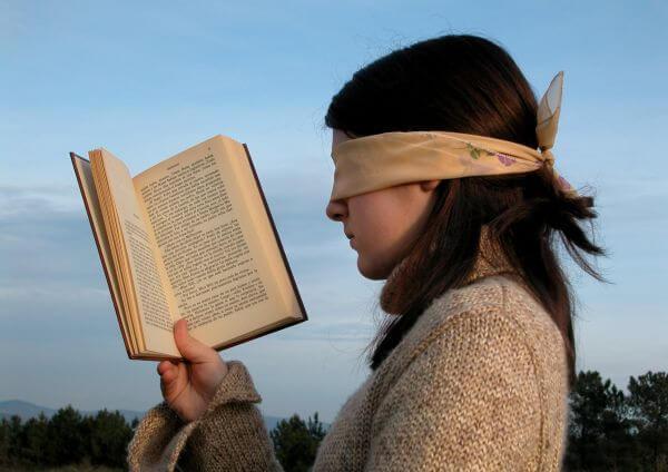 Blindfold photo