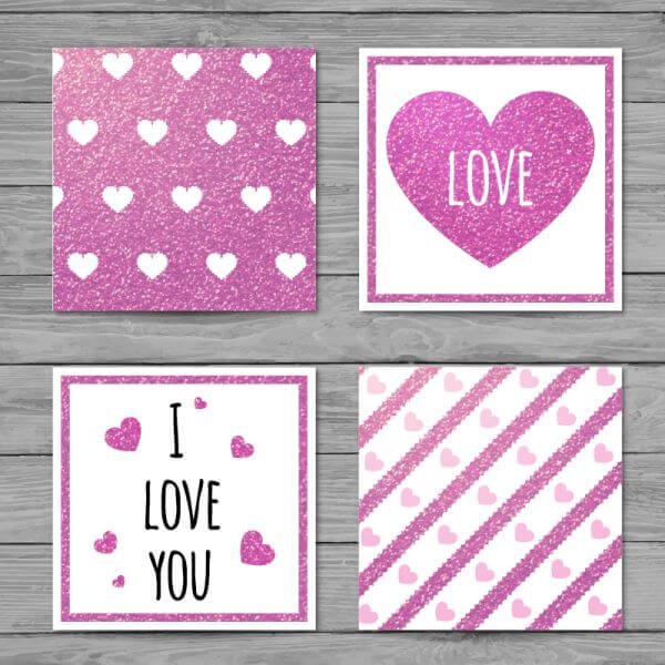 Love cards  vector